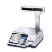 Торговые весы с печатью этикеток CAS CL5000 Junior P фото