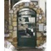 Кованая калитка в греческом стиле фото