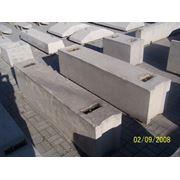 Блоки бетонные стен подвалов ФБС фото