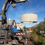 Наружная канализации из бетонных колец  в Бресте! фото