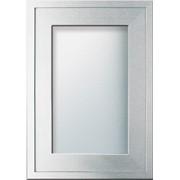 Фасады алюминиевые - мебельные двери из алюминиевых профилей со стеклянным заполнением (Z-профиль) фото
