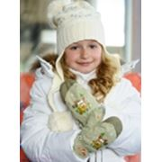 Перчатки детские зимние фото