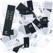 Размерники для одежды на полиэстере атласе нейлоне фото