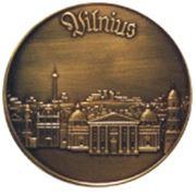 Сувенирные медали из меди бронзы или цинкового сплава фото