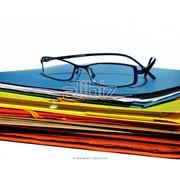 Офисные папки в ассортименте фотография