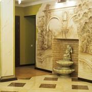 Художественная лепка,фактура,бареельеф,роспись стен и потолков фото