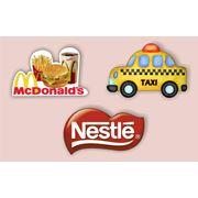 Рекламные сувенирные корпоративные магниты. фото