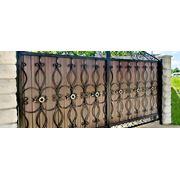 кованые ворота « Previous фото