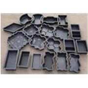 Формы полиэтиленовые для производства тротуарной плитки фото