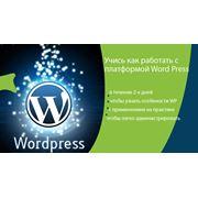 """Тренинг """"WordPress понятный для всех"""" фото"""