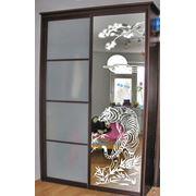 Серийное и индивидуальное производство декоративного стекла! фото