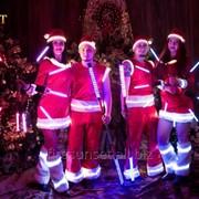 Новогоднее световое шоу фото