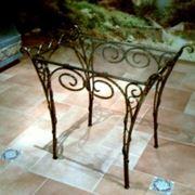 Столы кованные в МолдовеСтолы стеклянные в Молдове фото