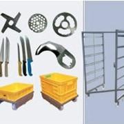 Режущий и вспомагательный инструмент, инвентарь, двери. Оборудование мясоперерабатывающее фото