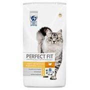 Perfect Fit 650г Sensitive Сухой корм для кошек с чувствительным пищеварением Индейка фото