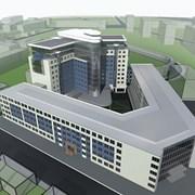 Архитектурная Проектирование бизнес центров фото