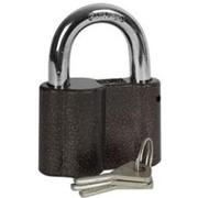 Замок Зубр Мастер навесной, общего применения, ключ 7 пинов, дужка d-14мм, 70мм Код:3720-1 фото