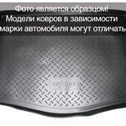 Коврик багажника Audi Q7 2005 борт. чер АВС фото