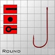 """Крючки """"Волжанка"""" Round # 14 (10 шт/уп)красные фото"""