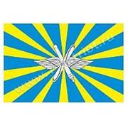 Флаг ВВС России 90х135 см. фото