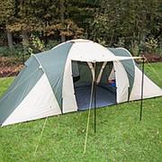 Палатка OUTDOOR TENT 6P 3-х комнатная 6-и местная фото