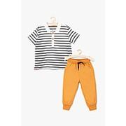 Комплект (поло+брюки) для новорожденных фото