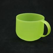 Кружка 500 мл(цв.зеленая прозрачный) 880506 фото