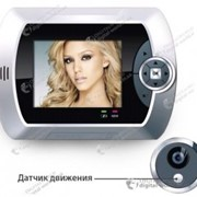 Видеоглазок SH1006 с камерой и 2,8 дюймовым дисплеем, с автоматической записью видео и фото по движению фото