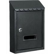 Ящик почтовый металлический 38038 чёрный фото