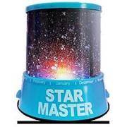 Ночник проектор звездного неба Star Beauty Синий с адаптером фото