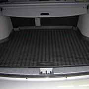 Коврик в багажник Toyota Venza 2008-2016 (полиуретановый с бортиком) фото