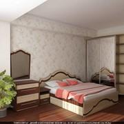 Кровать+ шкаф+тумба фото