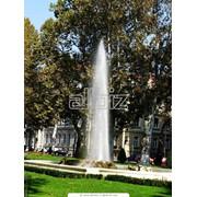 Услуги по установке фонтанов, Светомузыкальные, парковые фонтаны фото