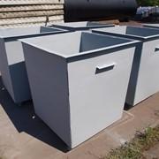 Контейнер для мусора на колесиках фото