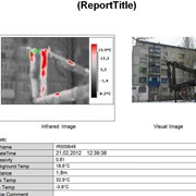 Тепловизионная съёмка зданий и сооружений фото