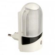 Uniel DTL-310 ночник 0.5W 4LED Селена/White 220V, фотосенсор, пластик, BL фото
