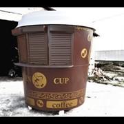Торговый павильон для кофе UNIT A 13 (d=2м) фото