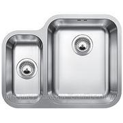 Blanco YPSILON 550-U основная чаша справа Кухонная мойка врезная, без крыла, с клапаном-автоматом, нержавеющая сталь полированная, 518211 фото