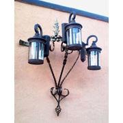 Металлоизделия: подставка для ламп качели вешалки подставки фото
