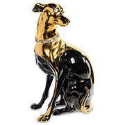 Скульптура Грейхаунд/Собака высота 48 см. арт.AHURA-26 фото