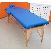 Массажный стол 2-х секционный переносной Ergoforce TWT002C фото