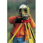 Услуги в области топографии и геодезии фото