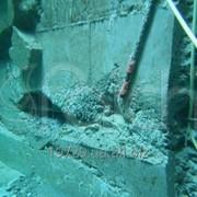 Подводная санация бетона, очистка от ракушечника фото