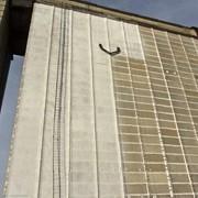 Ремонт фасада силосного корпуса железобетонного элеватора фото