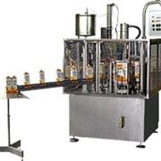 Автомат розлива молочных продуктов производительностью 3000 пак/час фото