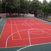 Резиновое покрытие для спортивных площадок АНТ Стандарт Колор фото