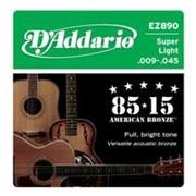 Струны D#39-Addario EZ-890 Super Light фото