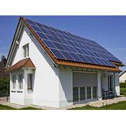 Батареи для сбора солнечной энергии на зданиях фото