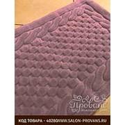 Коврик Gelin Home ERGUVAN хлопковая махра тёмно-розовый 70х120 фото