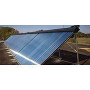 Системы солнечного нагрева воды гелиосистемы фото